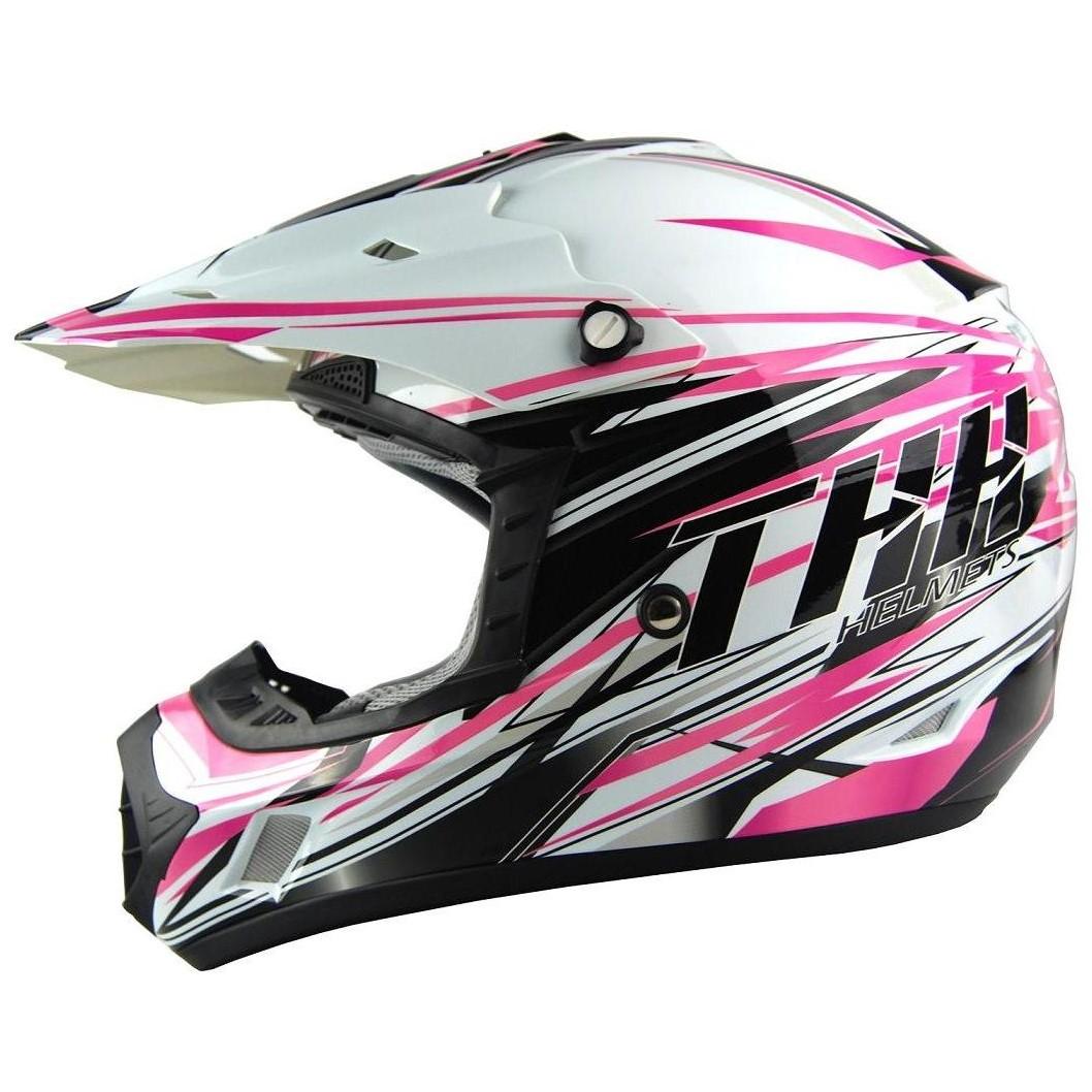 "THH TX-12 ""White Pink"" Junior - Fordonssajten ec09b72608f52"